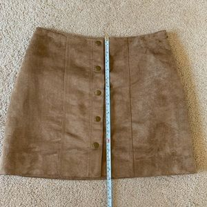 GAP Skirts - Faux Suede Skirt - Gap - Size 4